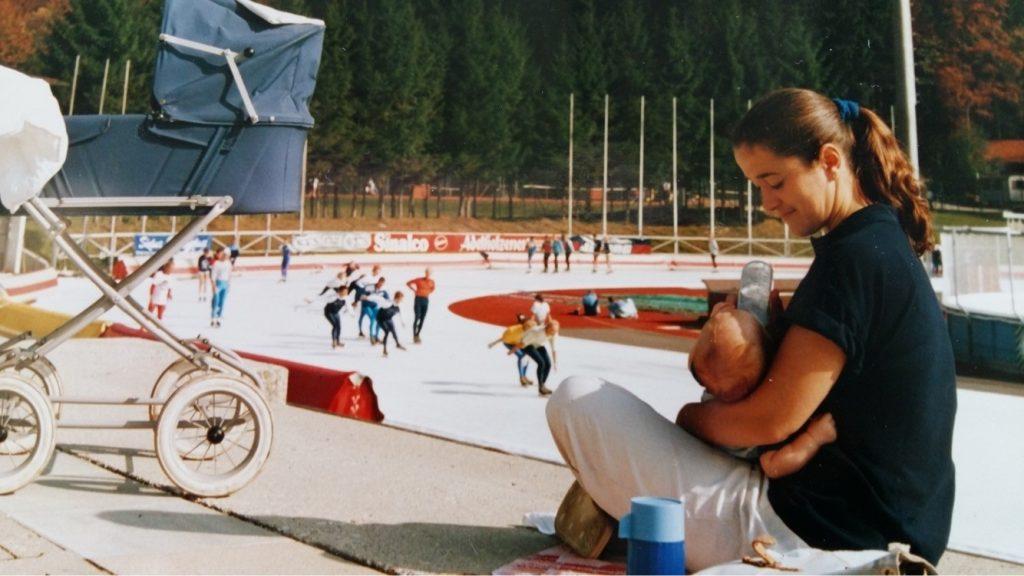 Als controlefreaks in Inzell eindelijk weer op het ijs