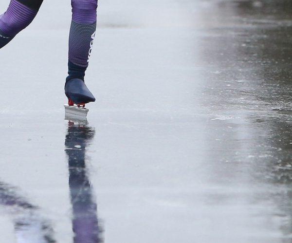 Gevormd door schaatsen