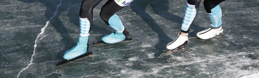 Hoe schaats je over natuurijs?