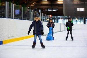 Jeugd op de schaats