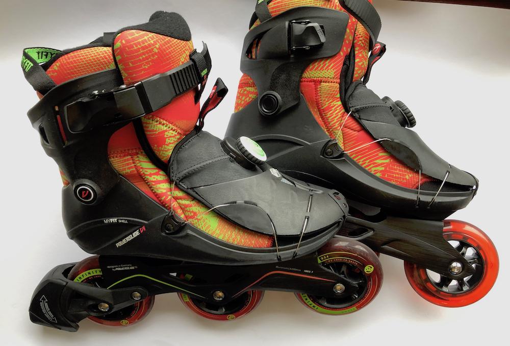 Powerslide Vi Cortex skate skeeler