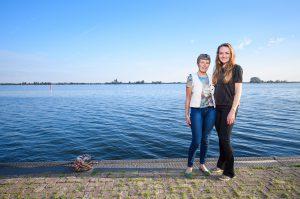 Lenie van der Hoorn en Merel Bosma