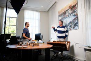 Piet Paulusma en Johan Boef